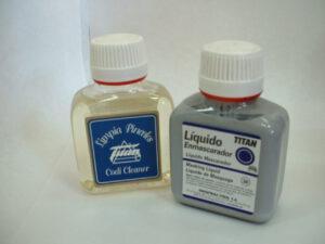 Liquido enmascarador y limpiador de pinceles