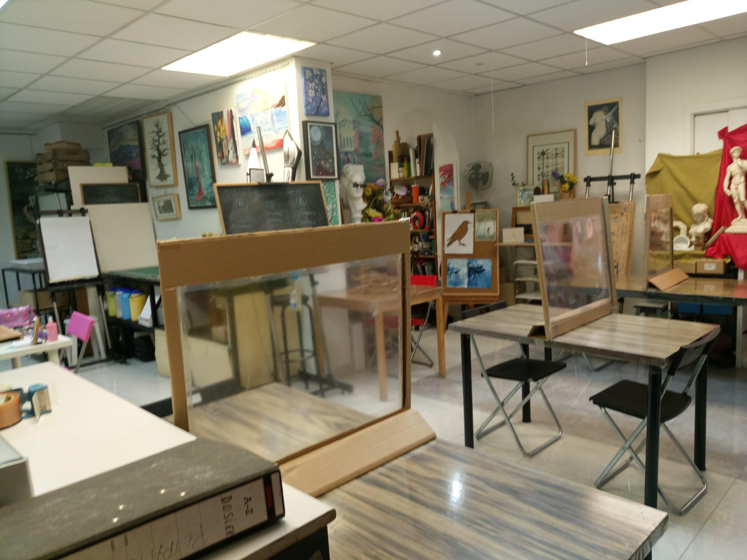 Aula de dibujo - pintura - ilustración y manga