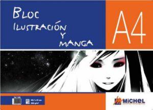 bloc para ilustración y manga