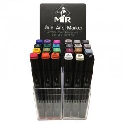 Dual Artist Marker - rotuladores mir